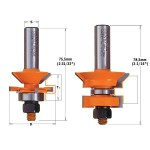 V-Tounge & Groove Router Bits