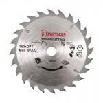 Spartacus 150mm 16mm Bore Circular Saw Blades