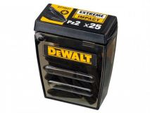 DeWalt PZ2 Pozi 2 DT70527 Extreme Impact Screw Driver 25mm Bit Tic Tac Box of 25 - �7.99 INC VAT