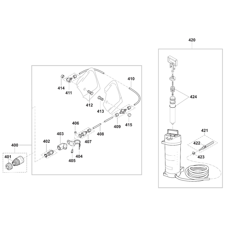 Spares For Makita Dpc6430 64cc Petrol Disc Cutter Spare