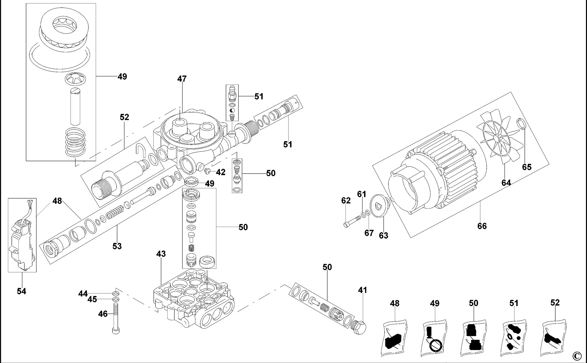 Ryobi Pressure Washer Pump Parts Wiring Diagram And Engine Motor Type 1 On