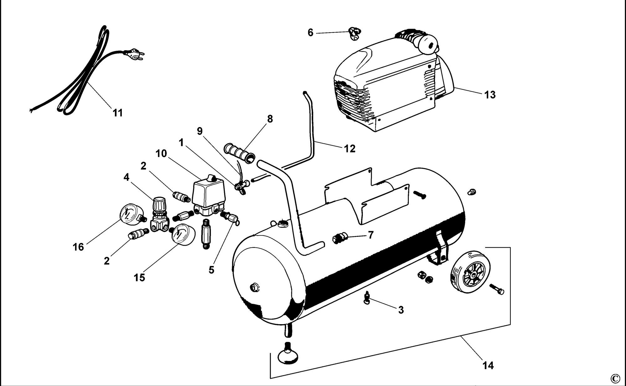 panasonic compressor parts