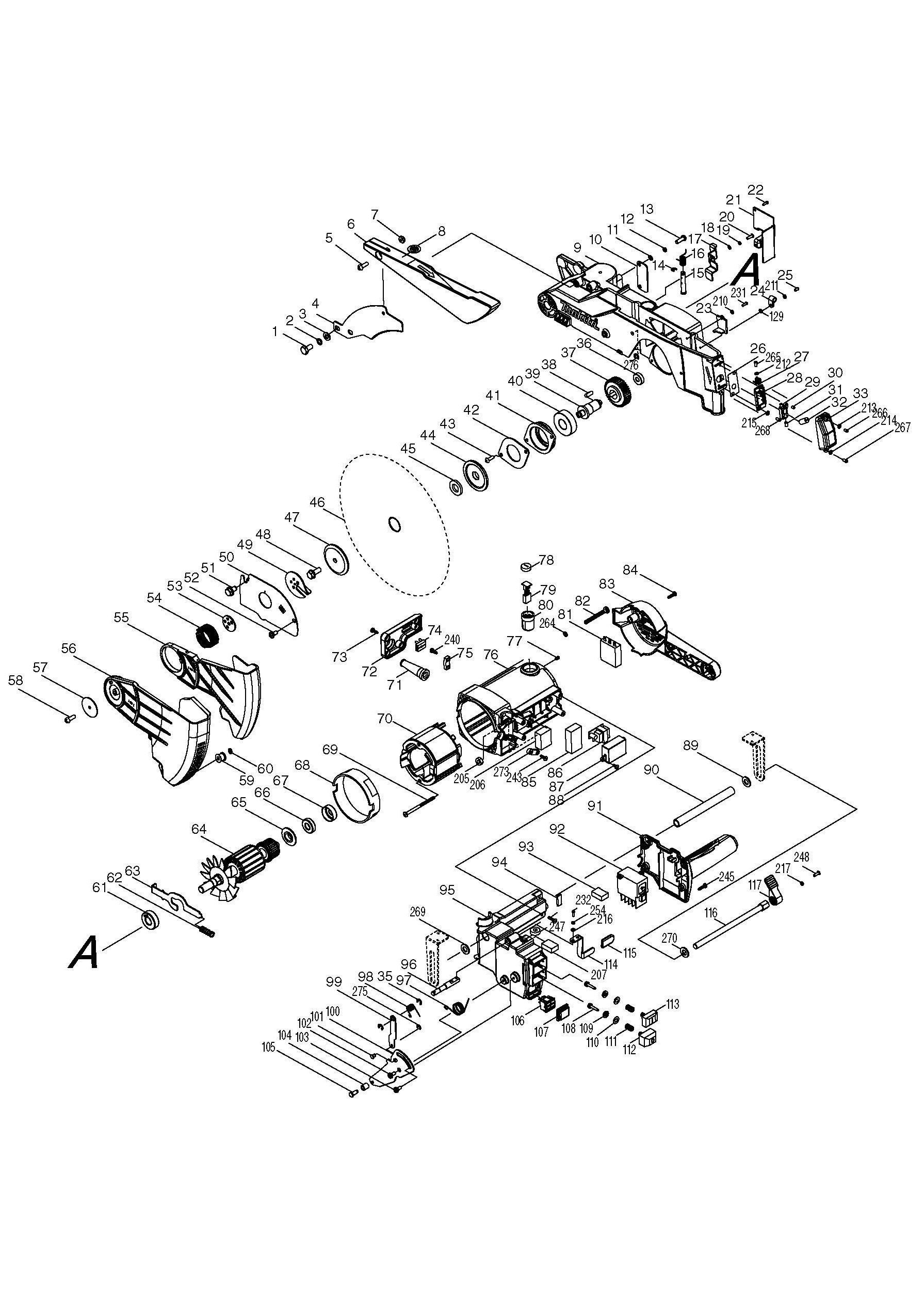 LH1200FL_WW_01 spares for makita lh1200fl spare_lh1200fl from power tool centre makita mlt100 wiring diagram at readyjetset.co