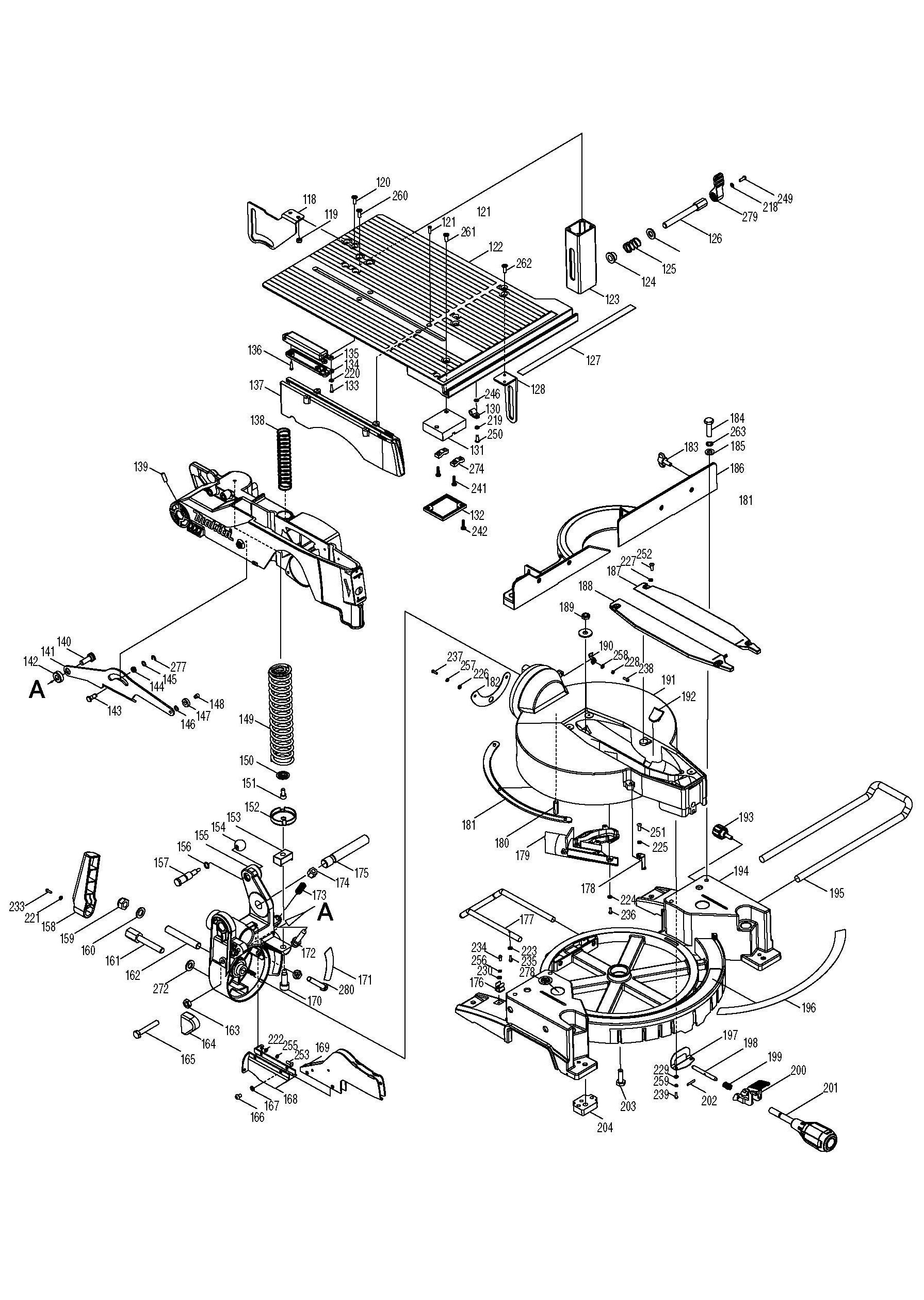 Table saw wiring diagram image harmar al600 wiring harness makita table saw wiring diagram image collections wiring table lh1200fl ww 02 makita table saw wiring greentooth Choice Image