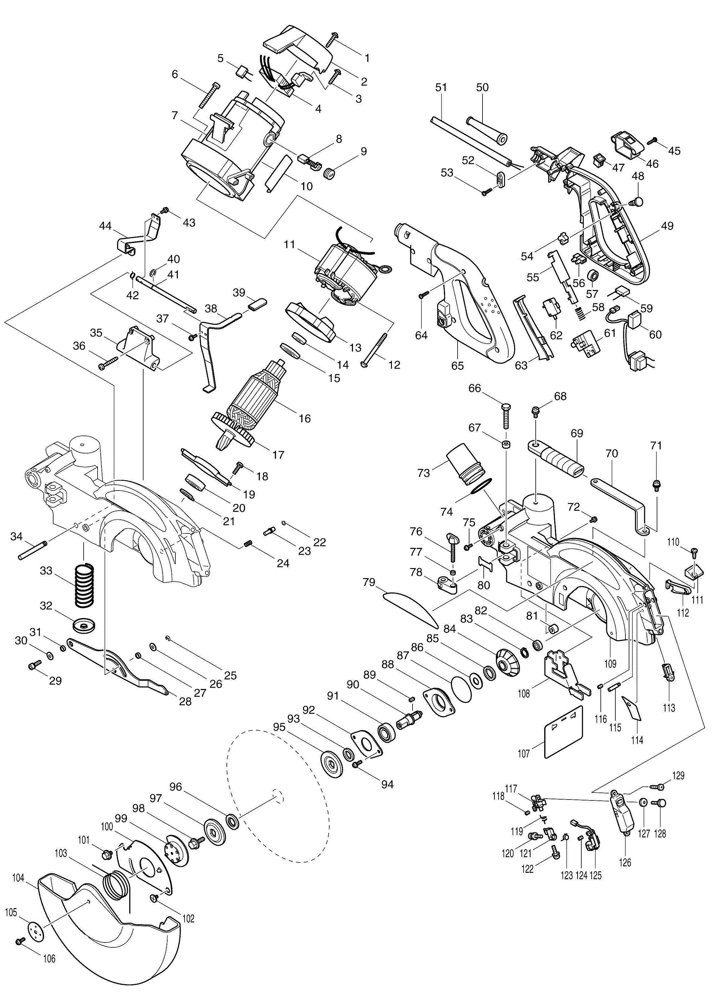 Makita Wiring Diagrams Imageresizertool Com