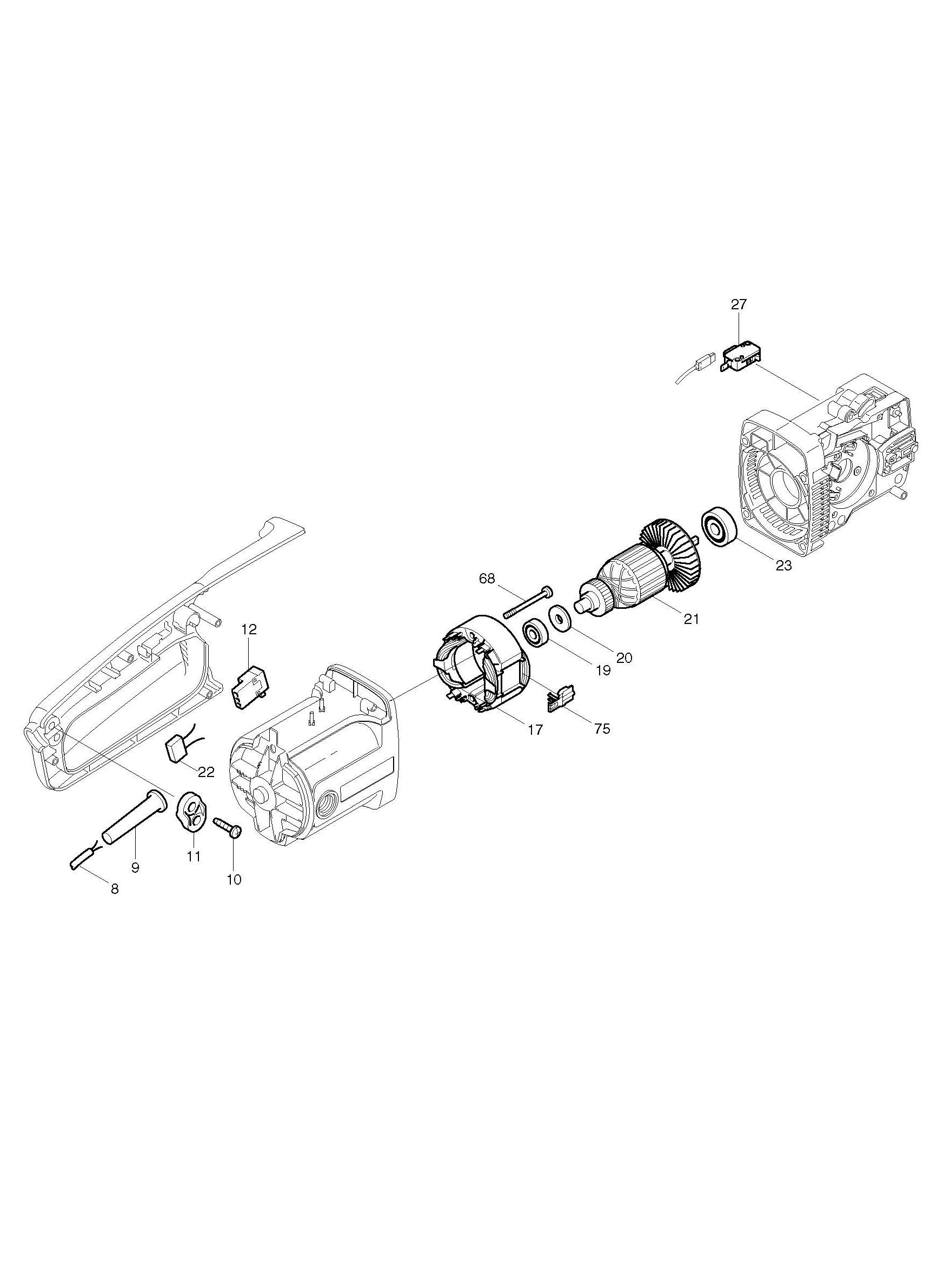 spares for makita uc4001a chainsaw spare uc4001a from power tool centre