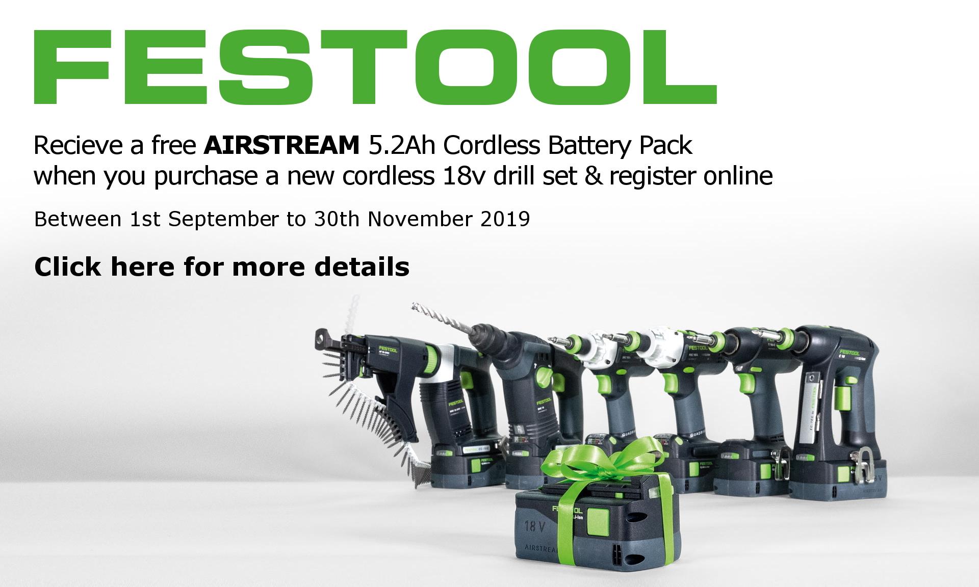 festool free battery