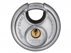 Abus 23/60 Diskus Stainless Steel Padlock Carded 44753