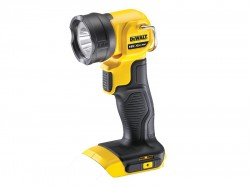 DeWalt DCL040 18 Volt Li-Ion XR Cordless LED Pivot Light Torch Body Only