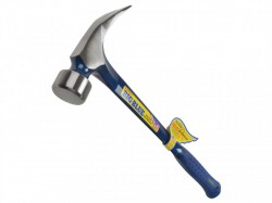 Estwing E3/28S Carpenters Straight Claw Framing Hammer - Vinyl Grip 28oz