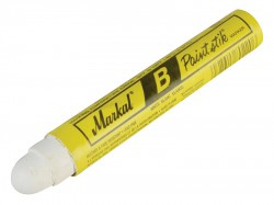 Markal Cold Surface Marker B White