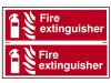 Scan Fire Extinguisher - PVC 300 x 200mm Signage