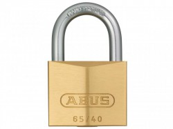 Abus 65/40 Brass Padlock Nano Protect Carded 09852