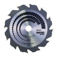 Bosch 160 x 12T x 16/20mm Bore Wood Cutting Blade