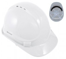 Blackrock White 6 Point Harness Safety Helmet Hard Hat