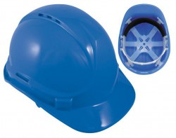 Blackrock Blue 6 Point Harness Safety Helmet Hard Hat