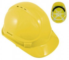 Blackrock Yellow 6 Point Harness Safety Helmet Hard Hat