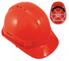 Blackrock Red 6 Point Harness Safety Helmet Hard Hat