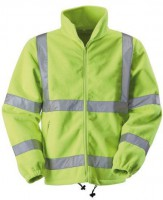 Blackrock Med Hi-vis Yellow Fleece