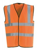 Blackrock Med Hi-vis Orange 2 B&b Safety Vest