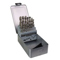 Dart BHSSSET25 25 Piece HSS Ground Twist Drill Set