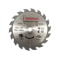 Spartacus 160 x 18T x 16mm Wood Cutting Circular Saw Blade