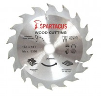 Spartacus 160 x 18T x 20mm Wood Cutting Circular Saw Blade
