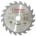 Spartacus 200mm 30mm Bore Circular Saw Blades