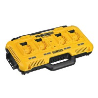 DeWalt DCB104 10.8 - 54 Volt XR FlexVolt Li-Ion 4 Port Fast Charger - TOUGHSYSTEM