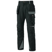 Dickies DP1005 Pro Holster Knee Pad Work Trousers - Black - Sizes 30 - 40
