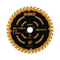 DeWalt DT10640 Cordless Extreme Framing Circular Saw Blade 165mm x 20mm 40T