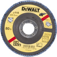 Dewalt DT3257 Flap Disc 115mm X 80 Grit