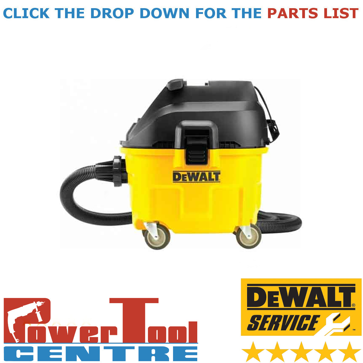 Dewalt Dust Extractor >> Details About Dewalt Genuine Spare Parts Dwv900l Dust Extractor Type 1