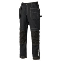 "Dickies EH26801 Eisenhower Extreme Trousers - Black - 30"" - 40\"" W"