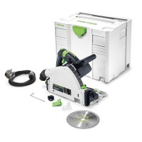 Festool 561553 TS 55 REBQ-PLUS GB 240 Volt Circular Plunge Saw in Systainer