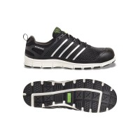 Apache Motion Mesh Safety Trainers - Black - Sizes 6 - 12