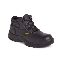 Sterling Steel Chukka Safety Work Boots - Black - Sizes 6 - 12