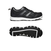 Apache Vault Lightweight Mesh Upper Safety Trainers - Black - Sizes 3 - 12