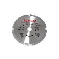 Spartacus 165mm x 4 Tooth x 20mm Bore Cement Fibre Board PCD Saw Blade