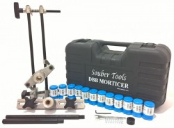 Souber Morticer Door Lock Jig + 12 Cutters Housing Kits & Shafts DBB Master Set