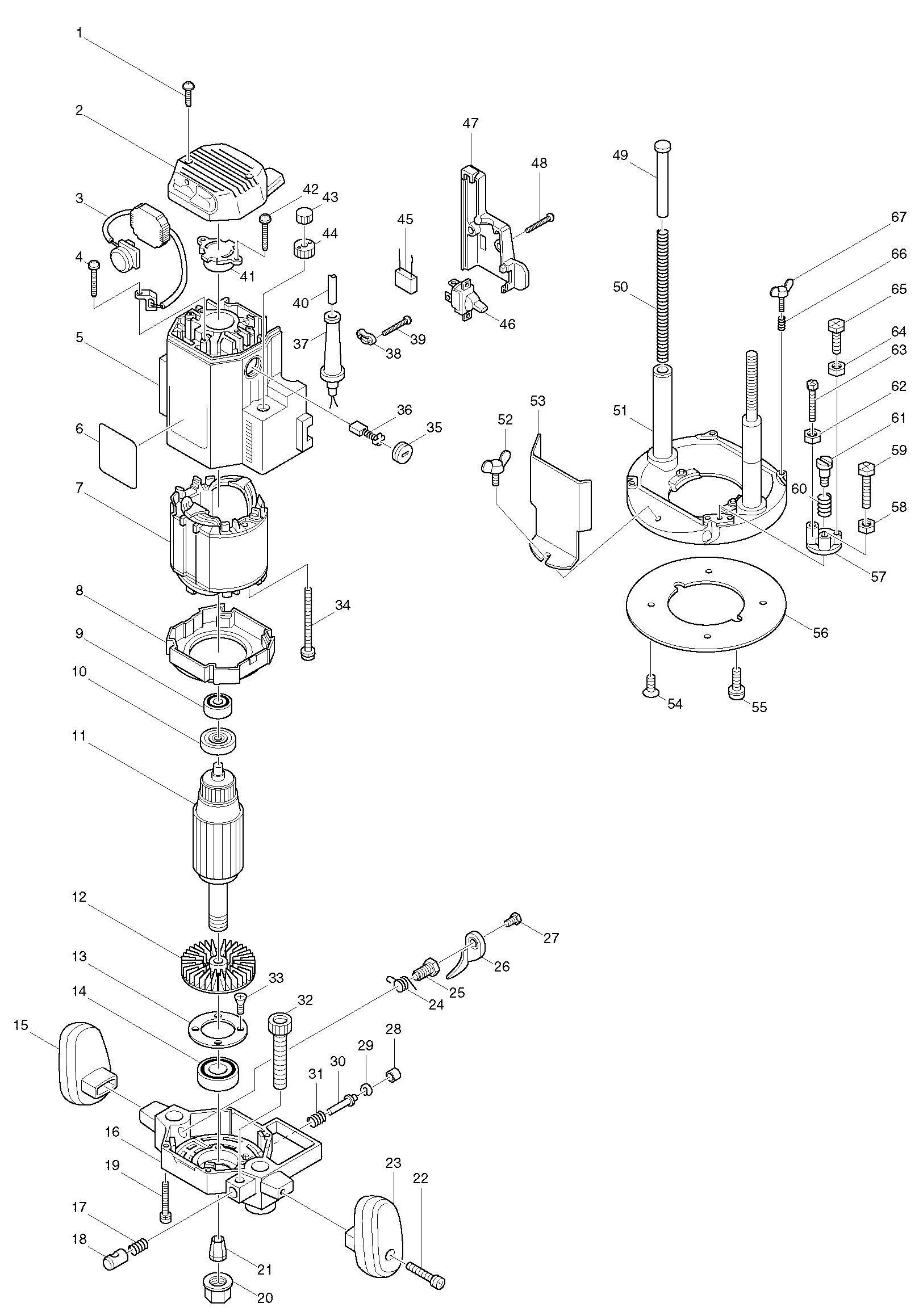 Makita Ga Wiring Diagram on