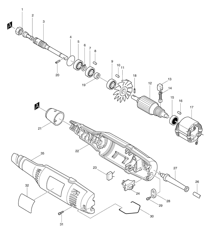 makita wiring diagram