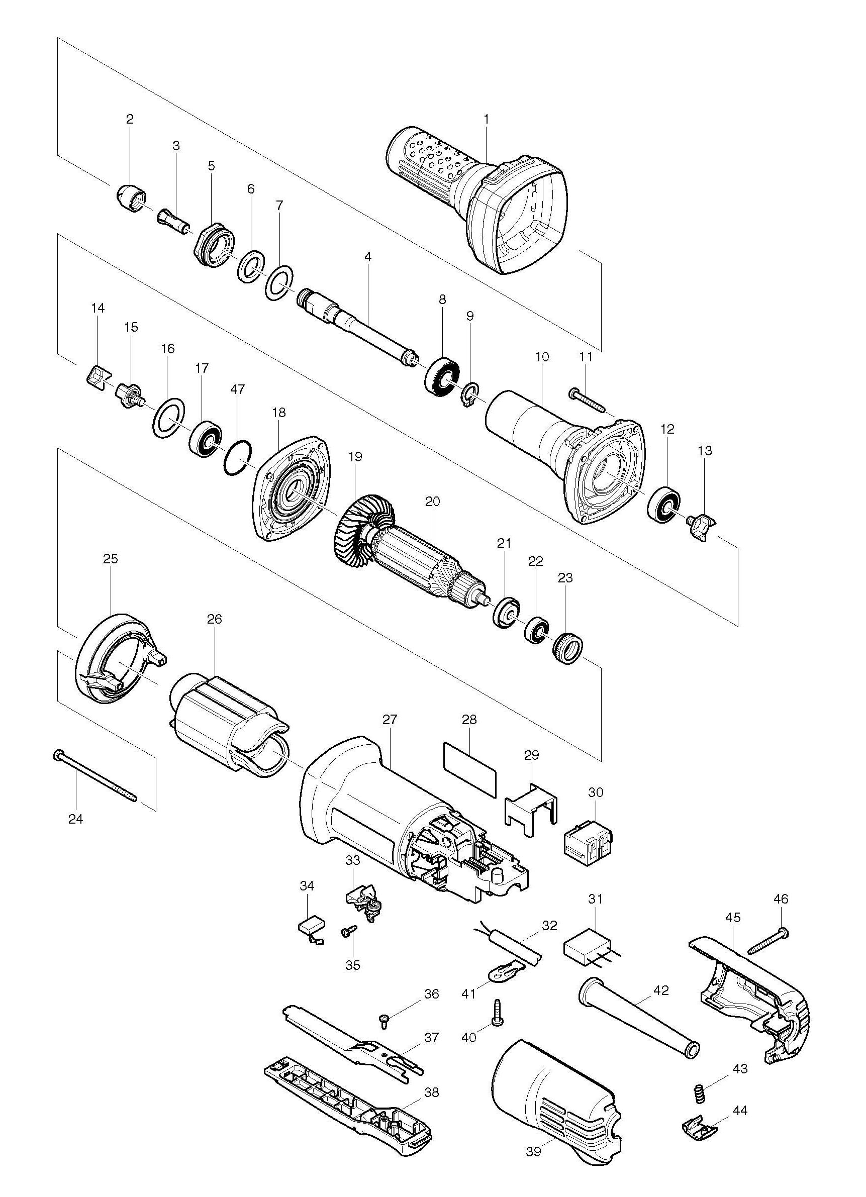 power tool schematic